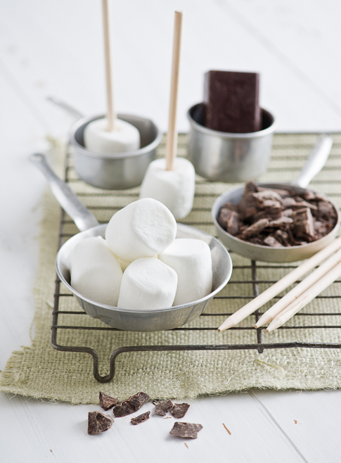 Chocolate Peppermint Marshmallow Pops from WhiteOnRiceCouple.com