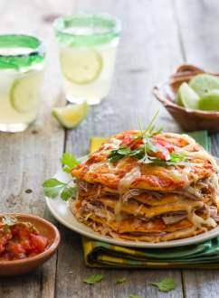 Spicy Chipotle Pork Enchiladas Recipe @whiteonrice