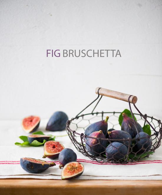 Fig and Ricotta Bruschetta Recipe White On Rice Couple