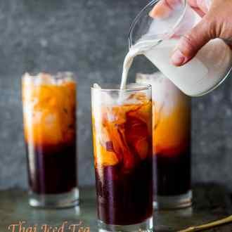 Easy Thai Tea Recipe (Thai Iced Tea) from White On Rice Couple