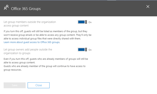 You Can't Disable Office 365 Groups