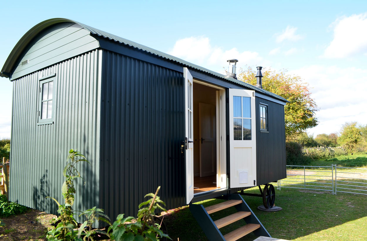 Large shepherd hut for living purposes