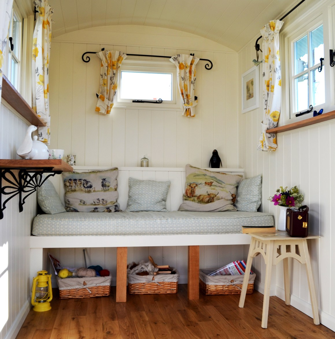 Shepherd hut summer house