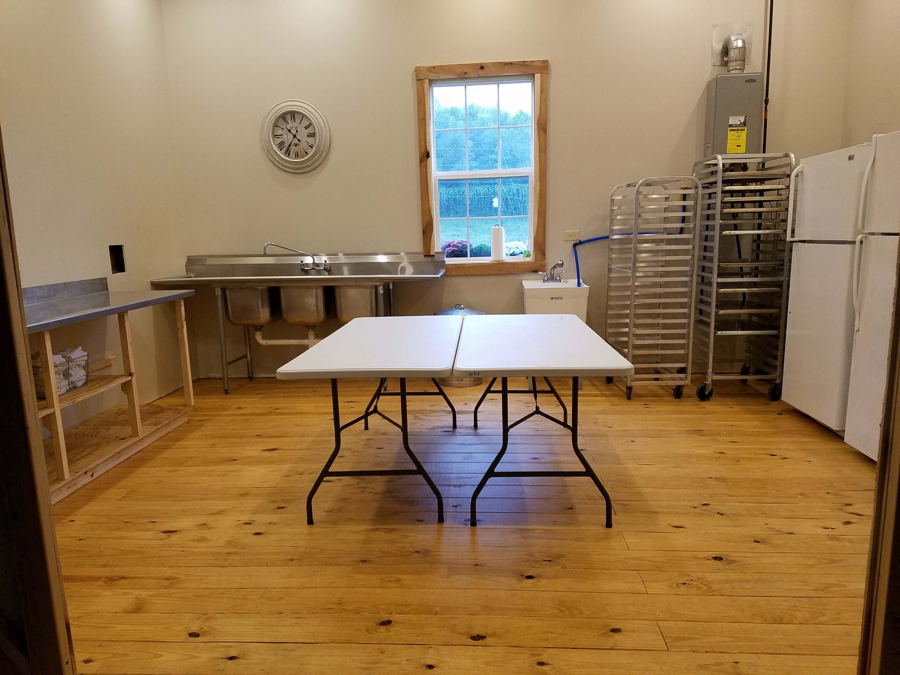 Our caterer's kitchen at White Pine Grove boasts plenty of space that your caterer will love!