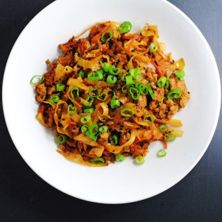 Pork and cabbage egg roll-in-a-bowl