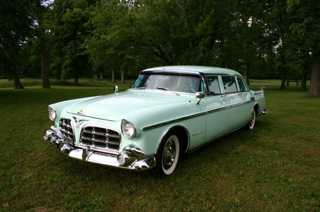 1956 Chrysler Crown Imperial Limo White Post Restorations