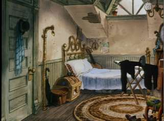 The Aristocats 1970 background - in Murder At Malone Manor inspiration post by Matt McDyre