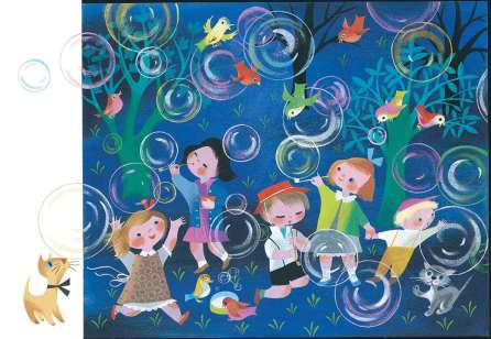 The Golden Book of Little Verses 1953 by Mary Blair - in Murder At Malone Manor inspiration post by Matt McDyre