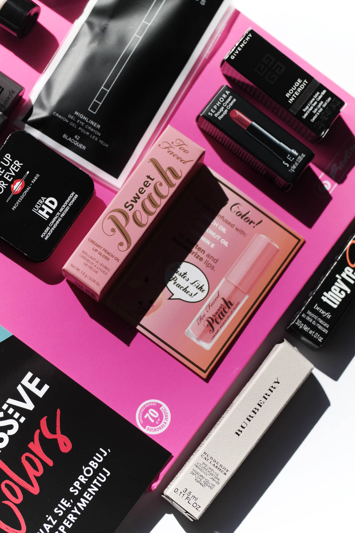 Sephora Box | EXCESSIVE COLORS marzec 2017