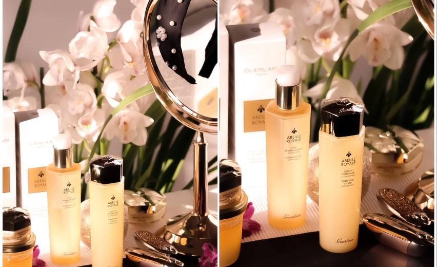 Olejek oczyszczający i lotion Abeille Royale | Guerlain