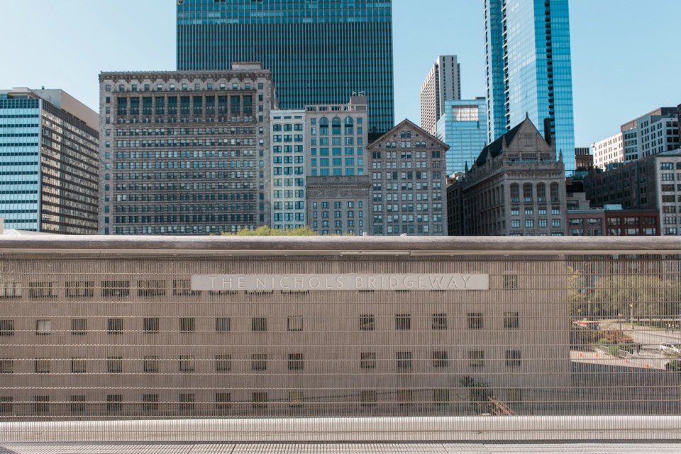The Nichols Bridgeway in Chicago IL