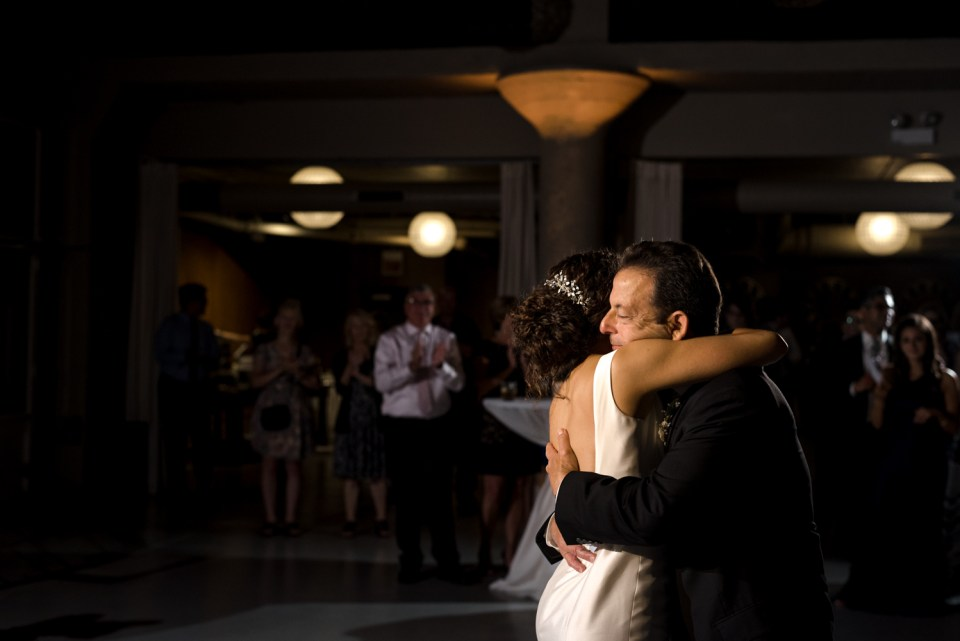 Bride shares a dance with her father at Artifact Events