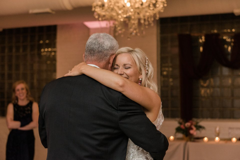 Father-daughter dance at Room 1520 in Chicago IL