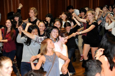 Dance at Leicester University