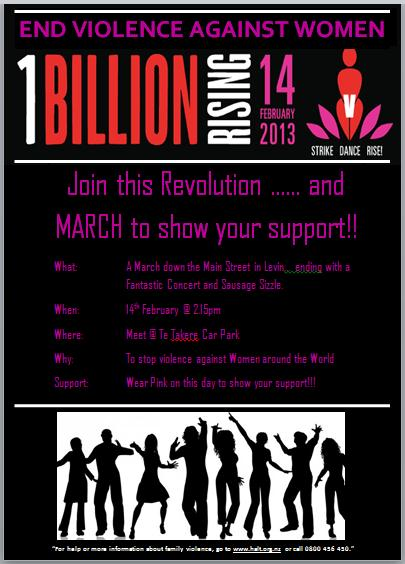 One Billion Rising Levin