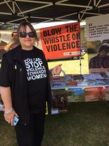 Gloria eves from Taupo violence intervention programme