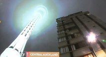 The Paul Henry Show as we light up the SkyTower