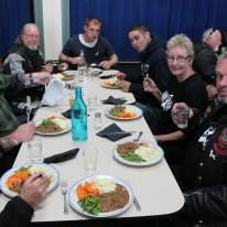 Dinner with Soroptomist Club in Hokitika