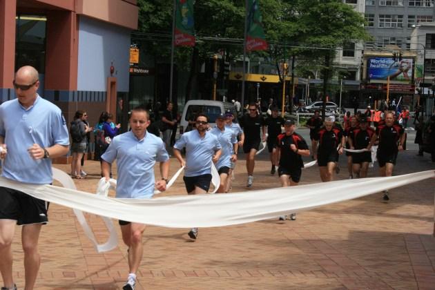 Man Run through the city2