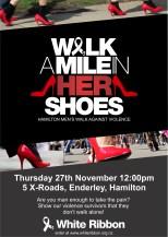 Hamilton Walk A Mile poster