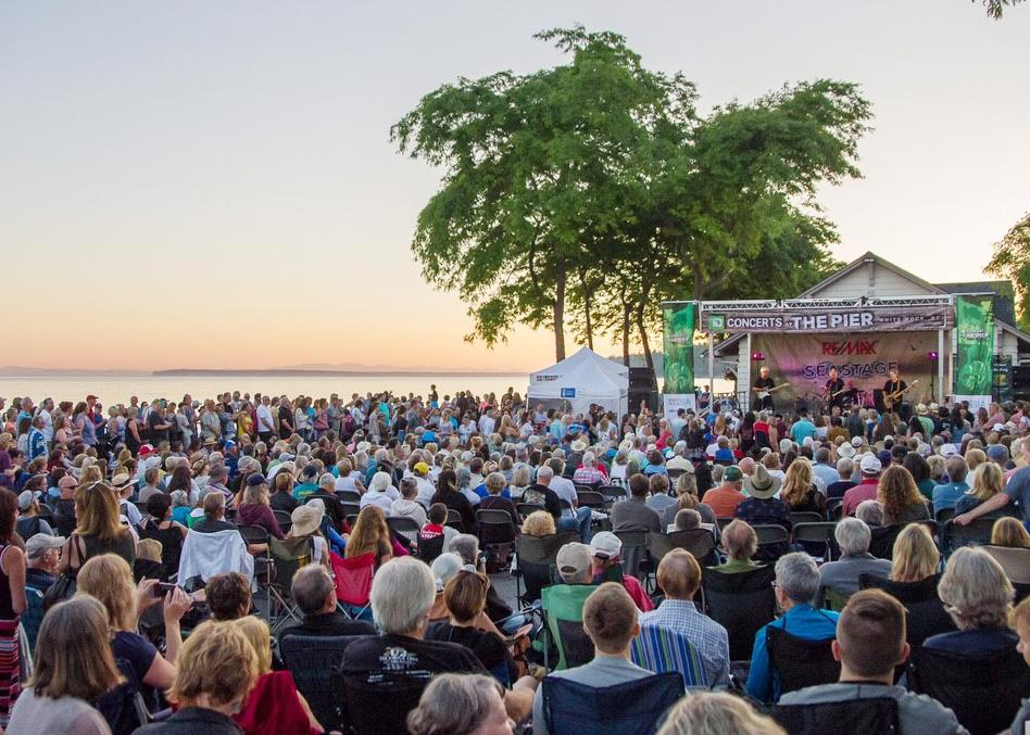 td concerts at the pier