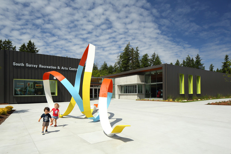Ribbon South Surrey Recreation And Arts Centre