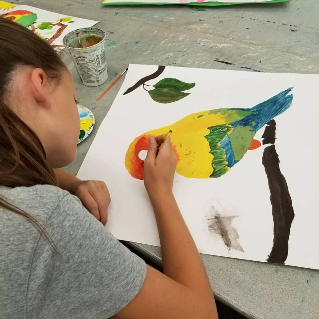 Visual Arts Afterschool Activities for children in south surrey white rock