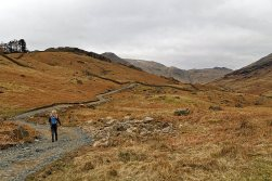 Path heading towards Low Pike