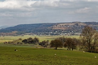 View of Scout Scar from near Rawsons