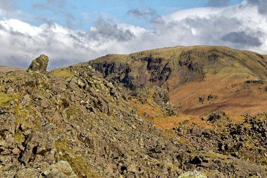 Helm Crag looking towards Steel Fell