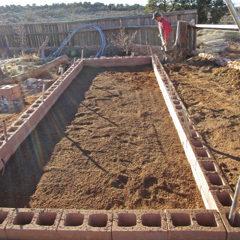 Soil Going In Hoop House