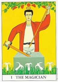 The Magician from the Gareth Tarot