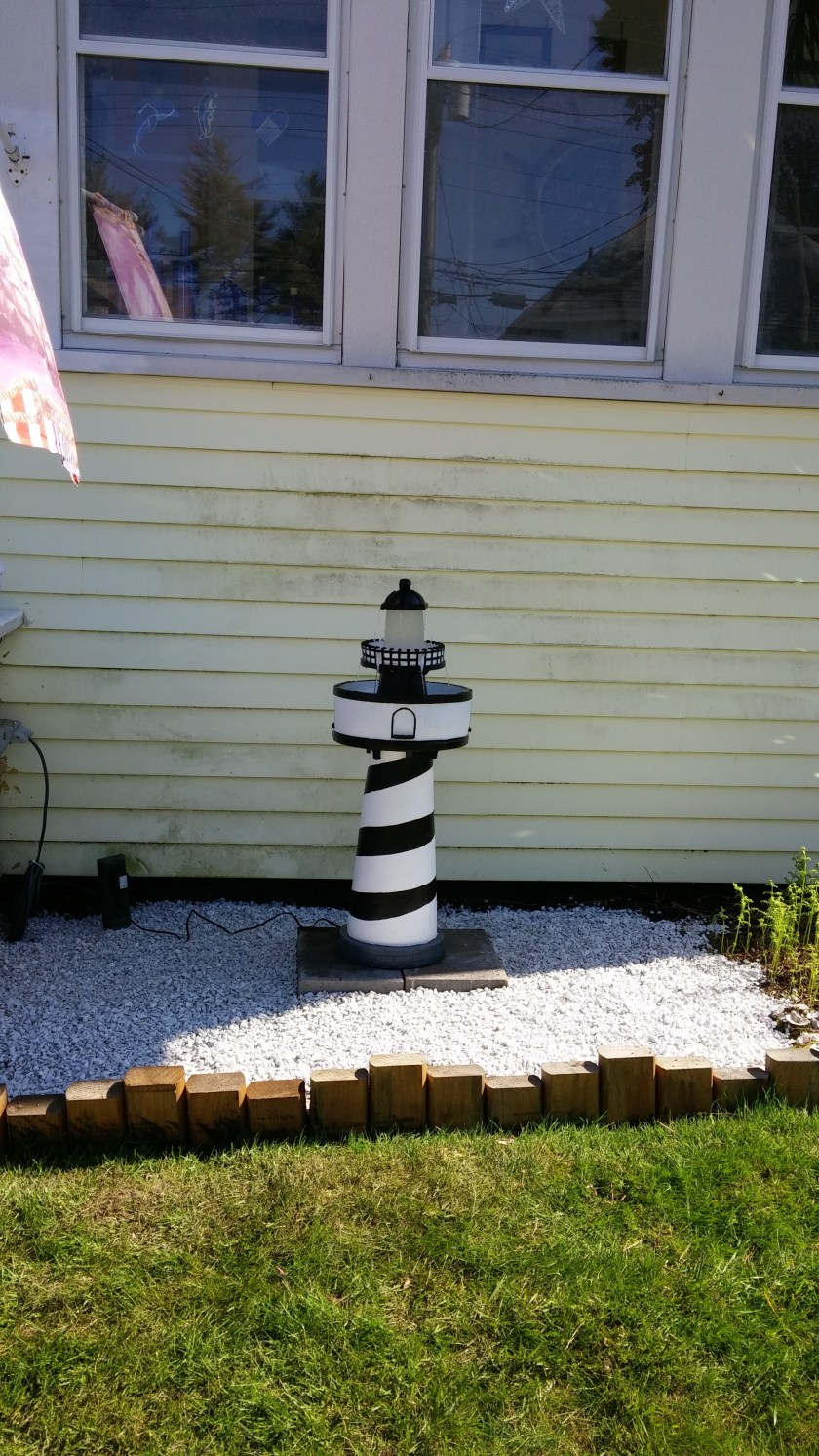 New Lighted Lighthouse Water fountain