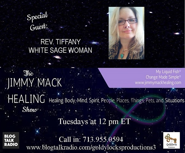 Rev Tiffany White Sage Woman Show Banner