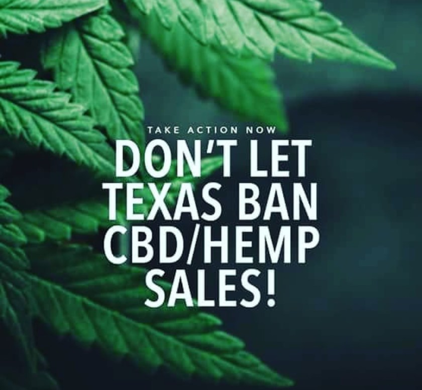 Dont let Texas ban CBD Hemp Sales