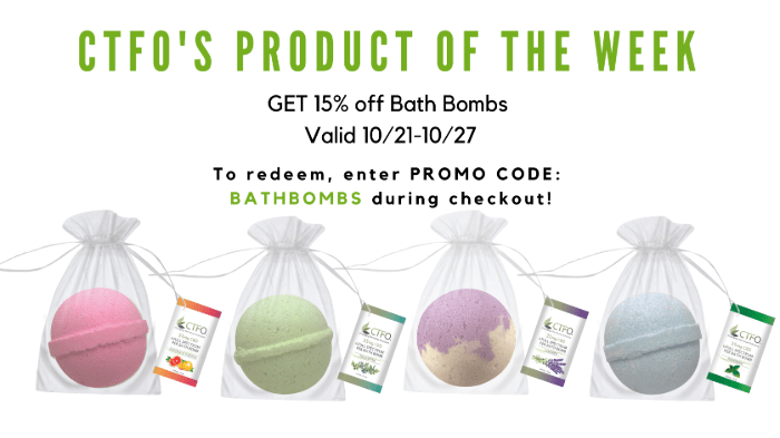 Bath Bombs 21 to 27Oct2019