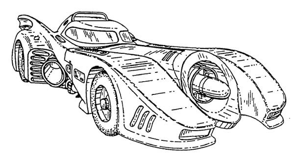 1989 batmobile blueprints batmobile batman batmobile