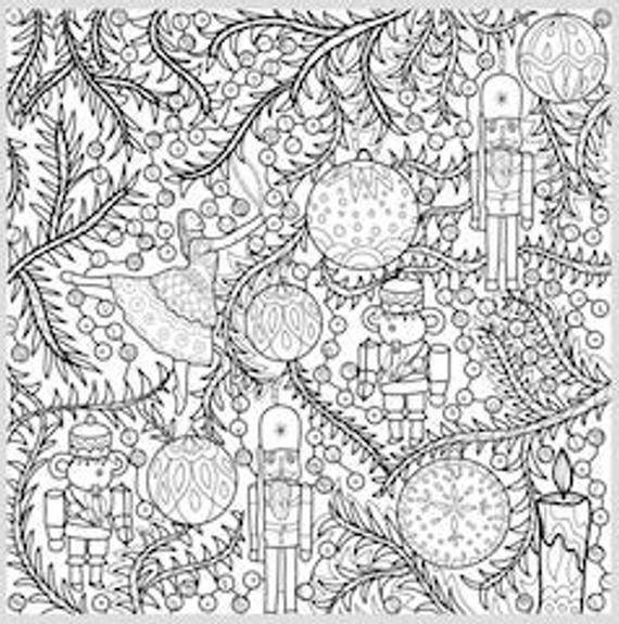 2 printable coloring pages zentangle coloring book nutcracker