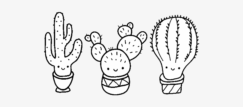 3 mini cactus coloring page cute cactus coloring pages png