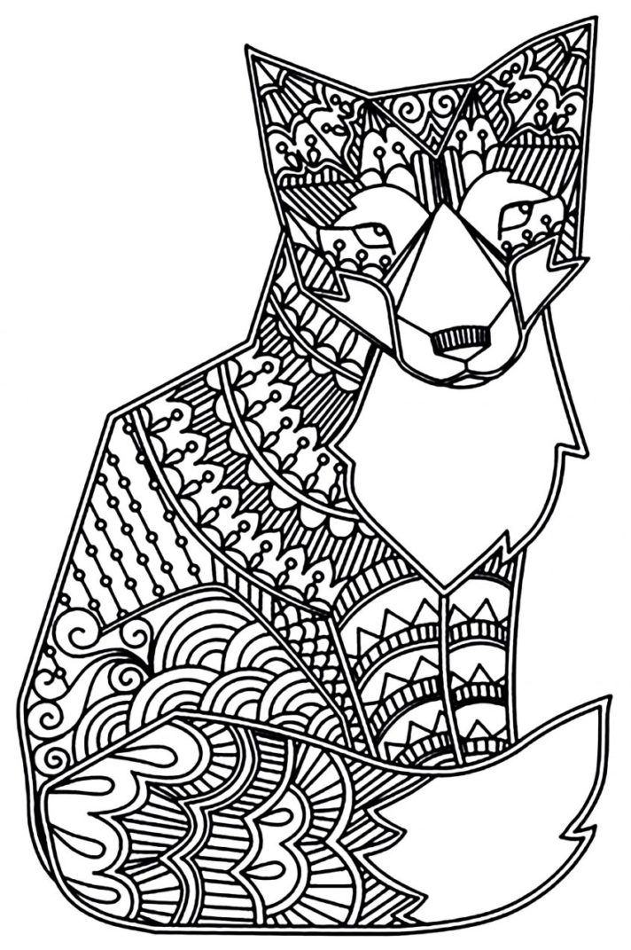 36 most cool hard coloring pages pdf animal at getdrawings