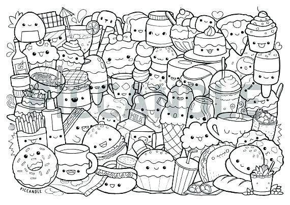 41 necessary how to draw kawaii food