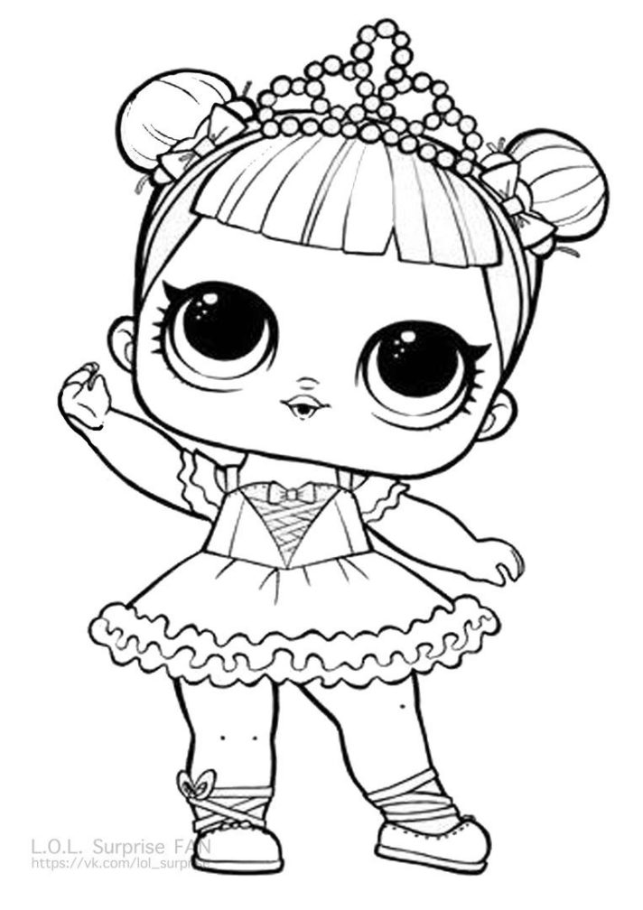 Lol Surprise Dolls Coloring Pages Picture - Whitesbelfast.com