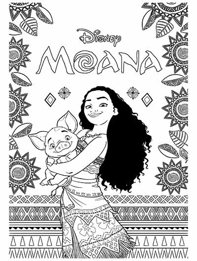 59 moana coloring pages january 2020maui coloring pages