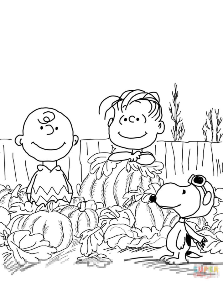 67 most perfect peanuts gang coloring page free christmas