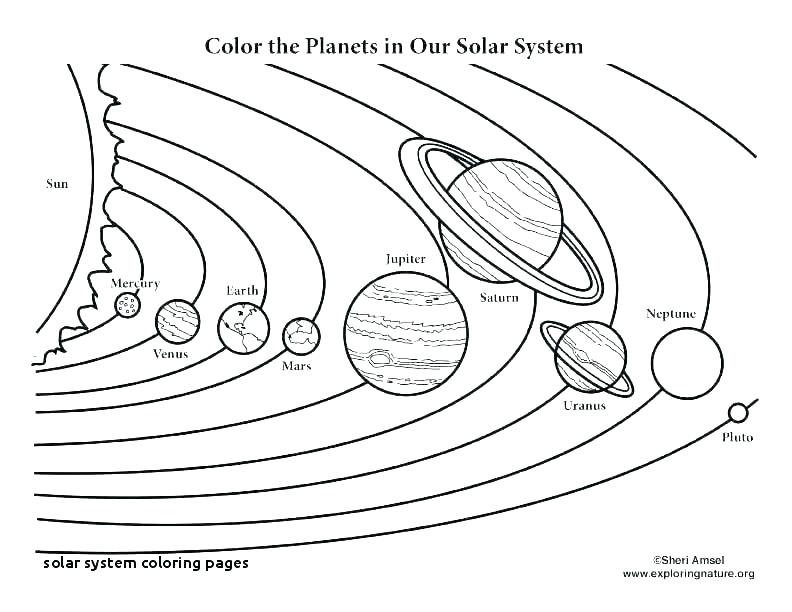 8 planets coloring pages siirthaber