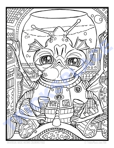 added two alien coloring pages to ubi page tricksplace
