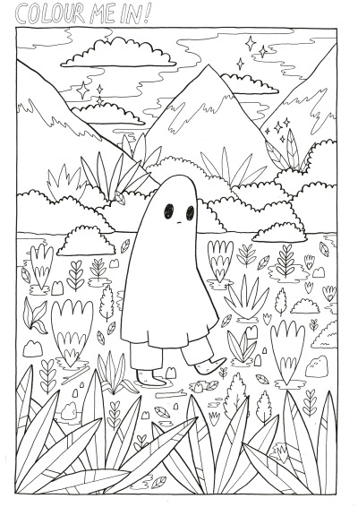 adult colouring page tumblr