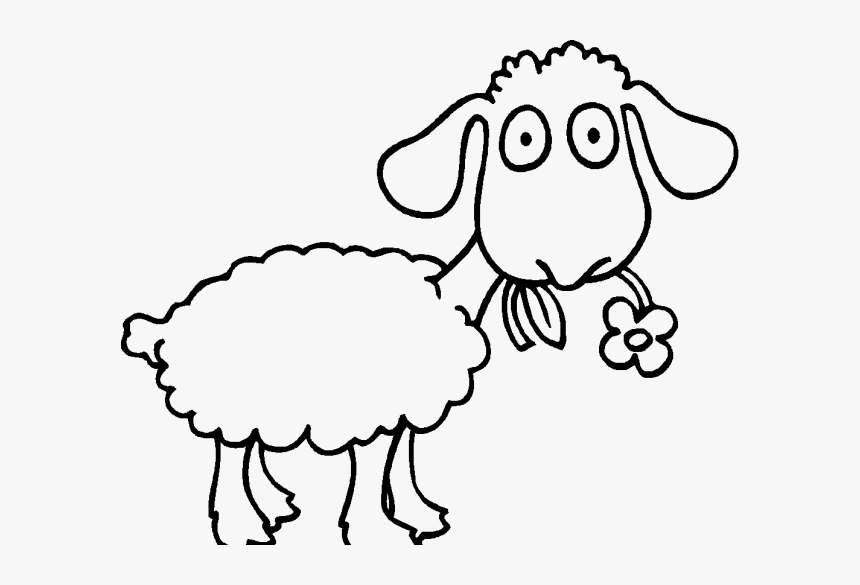 adult sheep coloring pages coloringstar eating