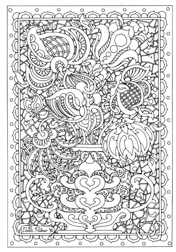 advanced coloring pages flowers pages printable free
