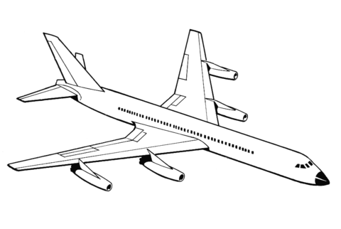 airplane coloring page free printable coloring pages